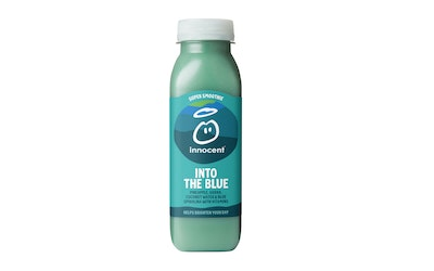 Innocent super smoothie 300ml into the blue