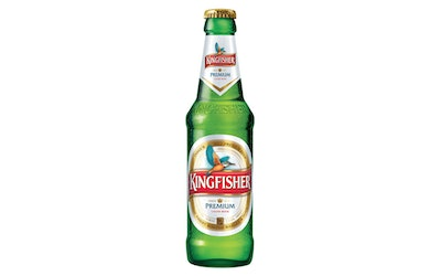 Kingfisher lager 4,8% 0,33l