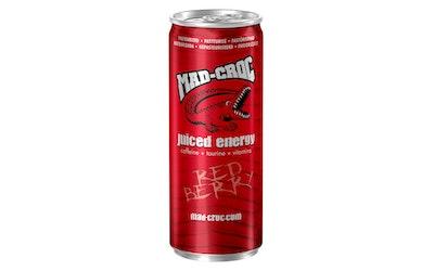 Mad-Croc energiajuoma Punainen Marja 0,25l