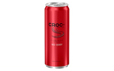 Croc Tail E Vodka long drink Red Berry 4,7% 0,33l