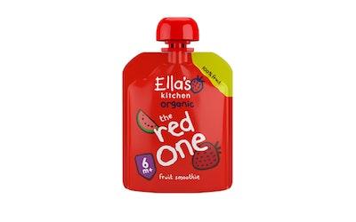 Ella's Kitchen Luomu punainen hedelmäsmoothie 90g 6kk