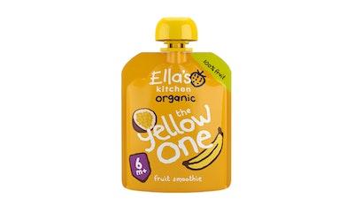 Ella's Kitchen Luomu keltainen hedelmäsmoothie 90g 6kk