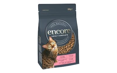 Encore kissan kuivaruoka 800g kana-lohi - kuva