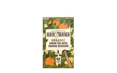 H&H vihreä tee ja appelsiinin kukka 20ps luomu