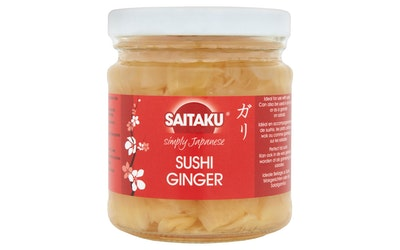 Saitaku Sushi Inkivääri 190g