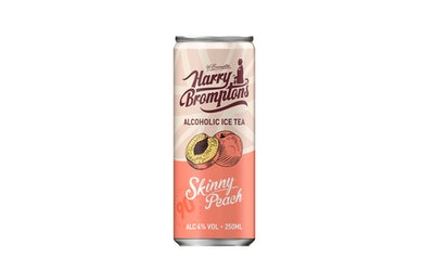 Harry Bromptons London Ice Tea with vodka Skinny peach 4% 0,25l