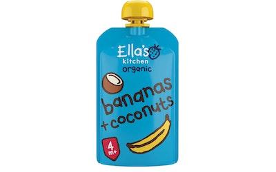Ella's Kitchen Luomu sose 120g 4kk banaani kookos