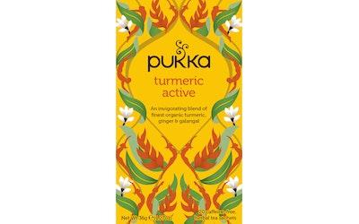 Pukka 20x1,8g Turmeric Active fairwild luomu teejuoma