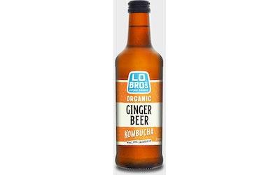 Lo Bros Kombucha Ginger Beer 0,33l luomu