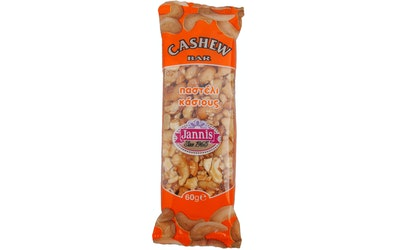 Jannis cashewpähkinälevy 60 g