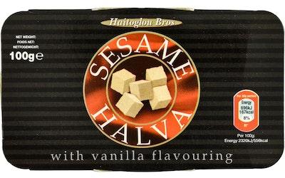 Sesame vaniljahalva 100 g