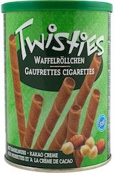Twisties hasselpähkinä kierrevohveli 400 g