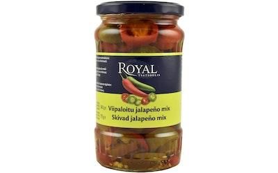 Royal jalapeno mix 360/175g viipaloitu