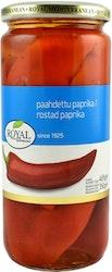 Royal punainen paahdettu kuoreton paprika 465/350 g