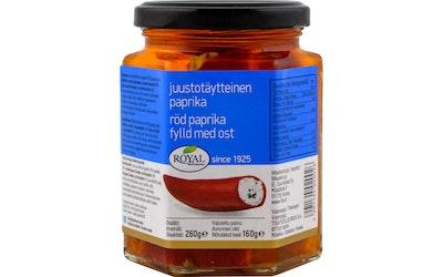 Royal juustotäytteinen paprika 260/160 g