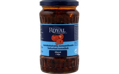Royal Aurinkokuivattu tomaatti kuutioina 200 g