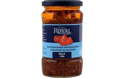 Royal aurinkokuivattu tomaatti suikaleina 200 g