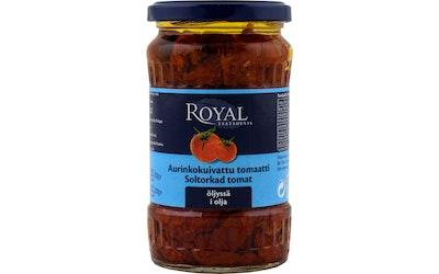 Royal aurinkokuivattu tomaatti öljyssä 200 g