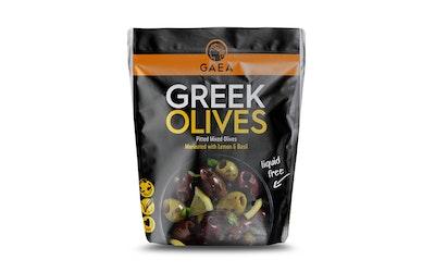 Gaea oliivilajitelma kivetön basilika-sitruunamarinadi 150g