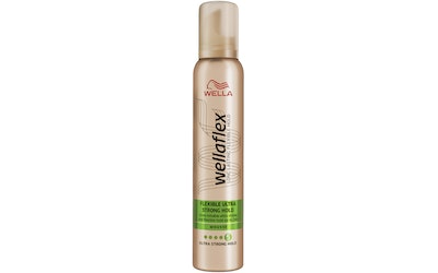 Wella Wellaflex muotovaahto 200ml Ultra Strong