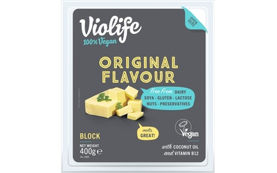 Violife 400g original kasviperäinen juustovaihtoehto