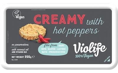 Violife Creamy 200g kermainen tulinen paprika/chili