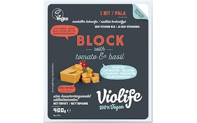 Violife 400g tomaatti ja basilika kasviperäinen juustovaihtoehto