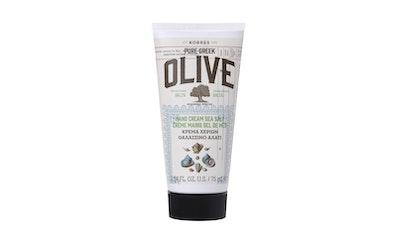 Korres käsivoide 75ml Olive & Sea Salt