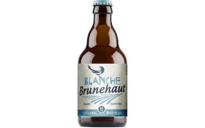 Brunehaut Blanche Organic 5,5% 0,33l vehnäolut