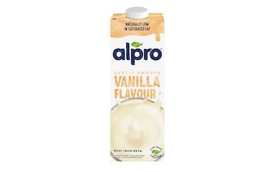 Alpro soijajuoma 1l vaniljanmakuinen