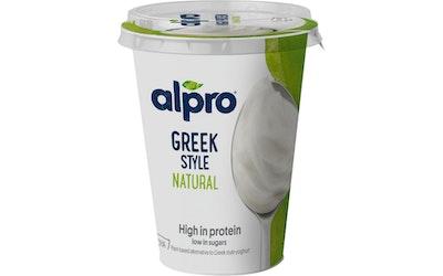 Alpro Greek Style soijavalmiste 400g maustamaton