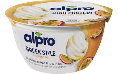 Alpro go on proteiinipitoinen soijavalmiste 150g passionhedelmä