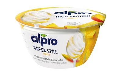 Alpro go on proteiinipitoinen soijavalmiste 150g mango