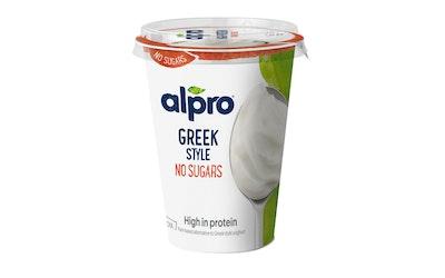 Alpro Greek Style hapatettu soijavalmiste 400g maustamaton makeuttamaton