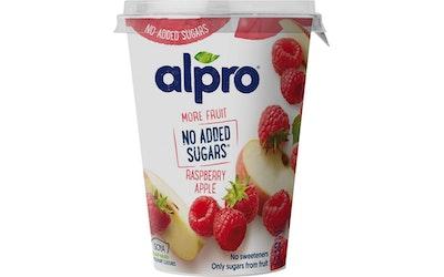Alpro soijavalmiste 400g vadelma-omena
