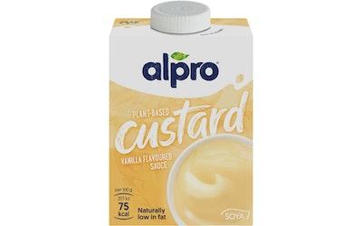 Alpro soijapohjainen vaniljanmakuinenkastike 525g