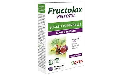 Fructolax 30kpl/23,7g hedelmäkuitutabletti