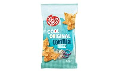 Poco loco sour cream & onion tortilla chips 450g maissilastu