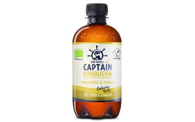 Captain Kombucha Pineapple 0,4l luomu