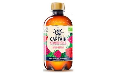 Captain Kombucha Raspberry 0,4l luomu