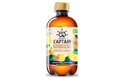 Captain Kombucha Ginger-Lemon 0,4l luomu