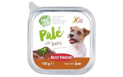 Best Friend koiran patee 150g maksa viljaton luomu