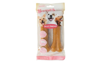 Best Friend bones piggy puristettu puruluu m-extra hard 17cm 2kpl