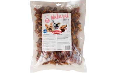 Best Friend Natural Bites possunkorvasuikaleet 600 g
