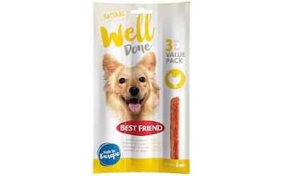 Best Friend WellDone koiran pihvitikku 3-pack kana