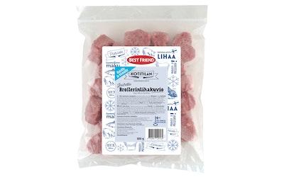 Best Friend Kotitilan jauhettu broilerinlihakuvio 500g pakaste