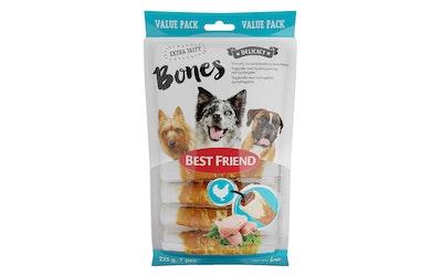 Best Friend bones pururulla kanatäytteellä ja kanafileellä 7kpl 225g