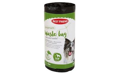 Best Friend gear biohajoava koirankakkapussi kantokahvoilla 40kpl suuri