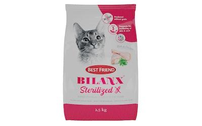 Best Friend Bilanx kissanruoka 2,5kg sterilisoitu viljaton