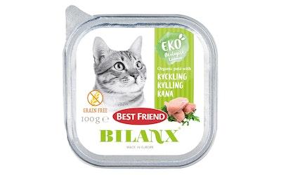 Best Friend Bilanx kissan patee 100g kana viljaton luomu